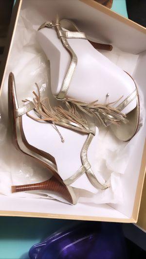 Michael Kors n Box (7.5) Fringe Sandal for Sale in Ossining, NY