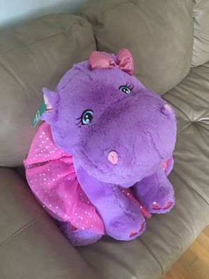 Stuffed animal toy large hippo for Sale in Silver Spring, MD
