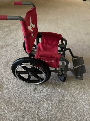 American Girl doll wheelchair for Sale in Tacoma, WA