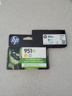 HP 951 XL Toner Cartridges- Yellow, Cyan for Sale in El Cajon,  CA