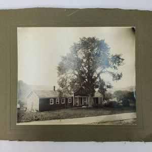 "Vintage Original 1920's Cabinet Photograph Of A House & Tree (7.625"" x 9.375"") for Sale in Trenton, NJ"