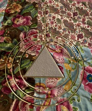 Triangle Mirror/Wall Hanging for Sale in Las Vegas, NV