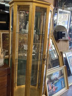 Vintage China Cabinet - $495 for Sale in Los Angeles,  CA