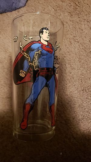 1975 superman collectible glass for Sale in Las Vegas, NV