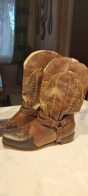 Men's Cowboy Boots (worn once) for Sale in Everett, WA