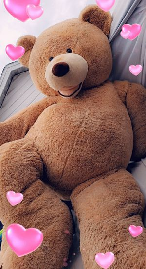 8 ft huge teddy bear for Sale in Tampa, FL