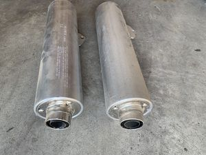 Mufflers. 06 Suzuki Hayabusa 1300 R. Motorcycle. Stock Pipe Tip. OEM for Sale in Fresno, CA