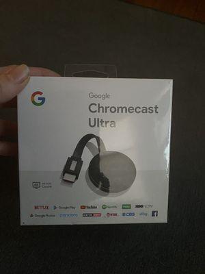 Google Chromecast Ultra for Sale in Philadelphia, PA