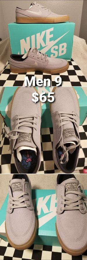 Nike SB Zoom Stefan Janoski Men 9 RM Grey Skate Shoes AR7718-002 for Sale in Los Angeles, CA