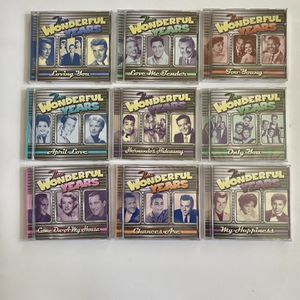 """9 CD's of """" The Wonderful Years"""". Still in original plastic wrap for Sale in Berea, OH"""