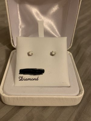 Diamond studs for Sale in Caledonia, WI
