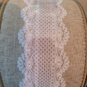 Lace & Burlap Wired Ribbon for Sale in San Diego, CA