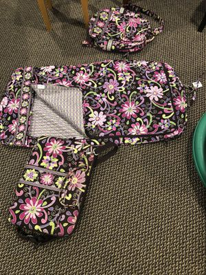 Vera Bradley Computer bag, Backpack, Makeup Bag and Garment Bag for Sale in Cheshire, CT
