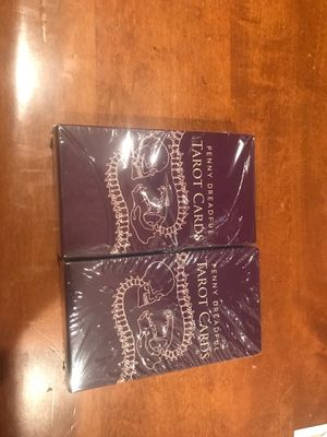 2 brand new penny dreadful tarot cards for Sale in Stockton, CA