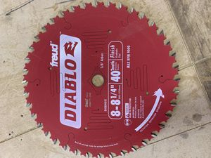 Saw blades for Sale in Fresno, CA
