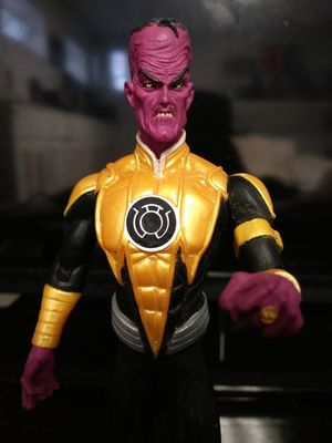 Dc direct sinestro action figure for Sale in Revere, MA