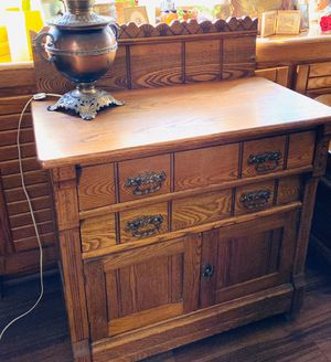 Antique Wooden Cabinet ❤️ for Sale in Las Vegas, NV