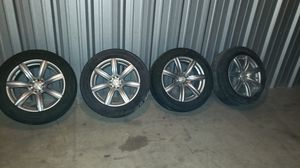 """17"""" Rims and tires for Sale in Houston, TX"""