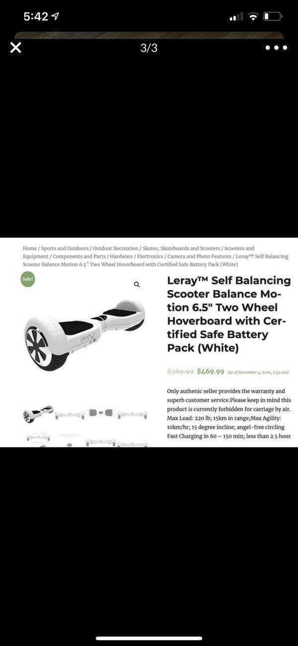 Leray dream walker hoverboard
