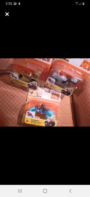 Thinkway /Universal Despicable Me-3 X3 for Sale in Williamsport, PA