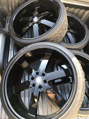 26s rims. Like new with tires included for Sale in Destin, FL