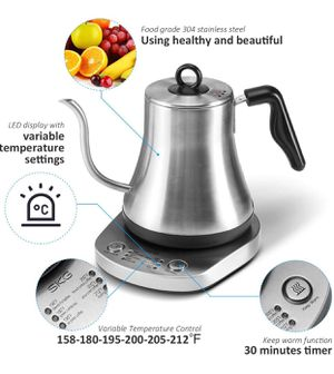 New SKG Electric Pour Over Kettle Gooseneck for Coffee and Tea for Sale in Ontario, CA