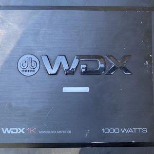 Db Drive Wdx 1000 Watt Amp for Sale in Sebring, FL