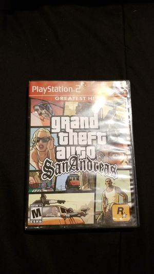 GTA San Andreas Ps2 for Sale in Irving, TX