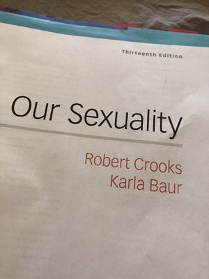 Public health, Our Sexuality, by Robert Crooks and Karla Baur for Sale in Fresno, CA