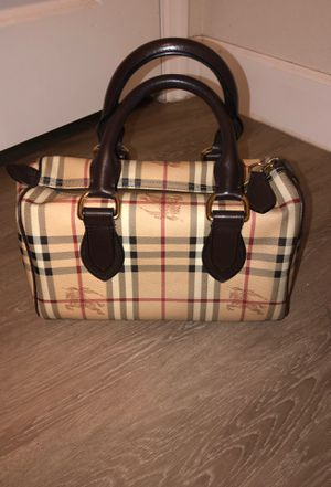 Authentic Burberry Bag for Sale in Brandon, FL
