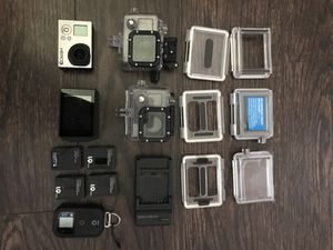 GoPro Hero3 w/ screen & accessories for Sale in Orlando, FL