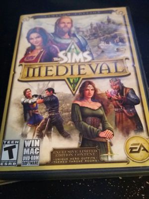 Sims medieval computer game for Sale in Spokane, WA