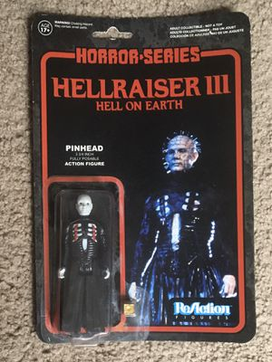 "ReAction 3 3/4"" Pinhead Hellraiser Figure for Sale in Redford Charter Township, MI"
