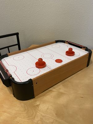 Table Top Air Hockey Table Battery powered for Sale in Hillsboro, OR