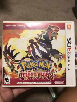 Pokémon Omega Ruby MINT CONDITION for Sale in Orlando, FL