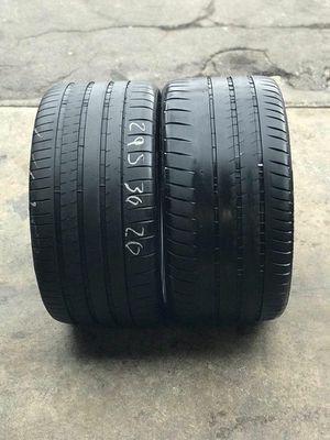 2 pirellis tires super sport cup 2 295/30r20 for Sale in Pico Rivera, CA