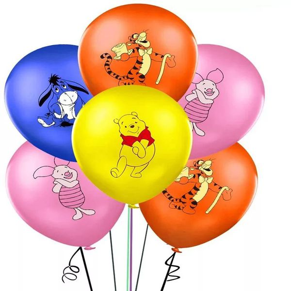Winnie The Pooh & Friends 12pcs Latex Balloons.