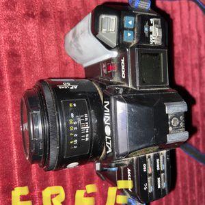Sale Pending - Free - Minolta Maxxum 7000 Camera for Sale in Stockton, CA