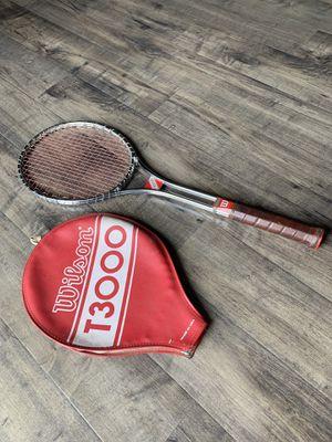 Vintage T3000 Tennis Racket $45 OBO for Sale in Phoenix, AZ
