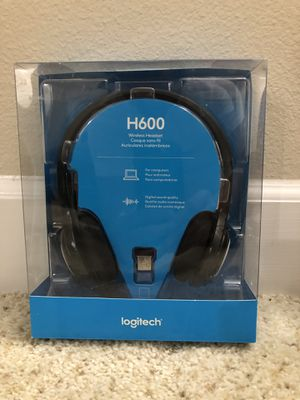 Logitech Over The Head Wireless Headset H600 **Brand New** for Sale in Spring, TX