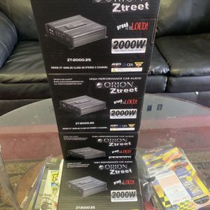 Orion Car Audio . Car Stereo Amplifier . 2000 watts . New Years Super Sale $69 While They Last . New for Sale in Mesa, AZ