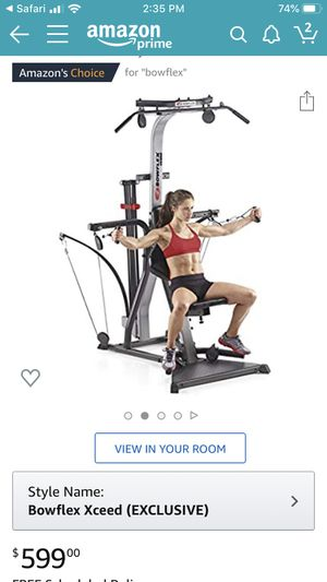 Bow flex workout gym for Sale in Toms River, NJ