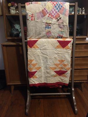 Vintage Quilt/Blanket/ Clothing Rack for Sale in Pasadena, CA