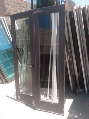 24 Inc wide by 80 tall French doors for Sale in Oceanside, CA