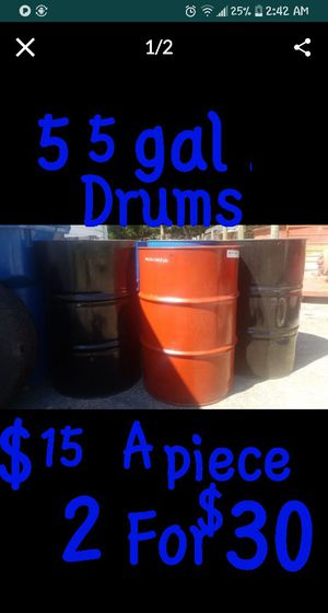 55 gallon drums for Sale in Indianapolis, IN
