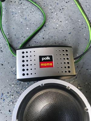 Polk audio momo component set 6-1/2 for Sale in French Camp, CA