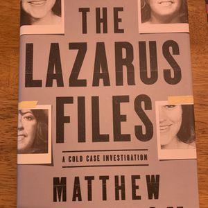 The Lazarus Files By Matthew McGough for Sale in Chicago, IL