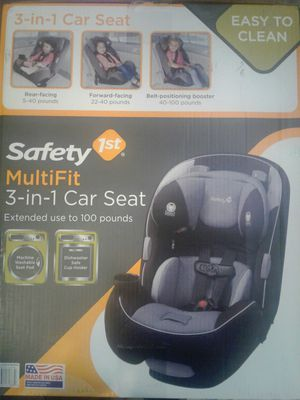Saftey 1st MultiFit 3-in-1 Car Seat for Sale in Fort Worth, TX