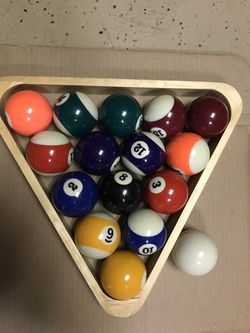 Set of Billiard Balls for Sale in San Juan Capistrano,  CA