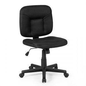 Costway Low-Back Office Chair with Adjustable Height & Lumbar Support for Sale in Jacksonville, FL